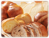 無添加の焼きたてパン